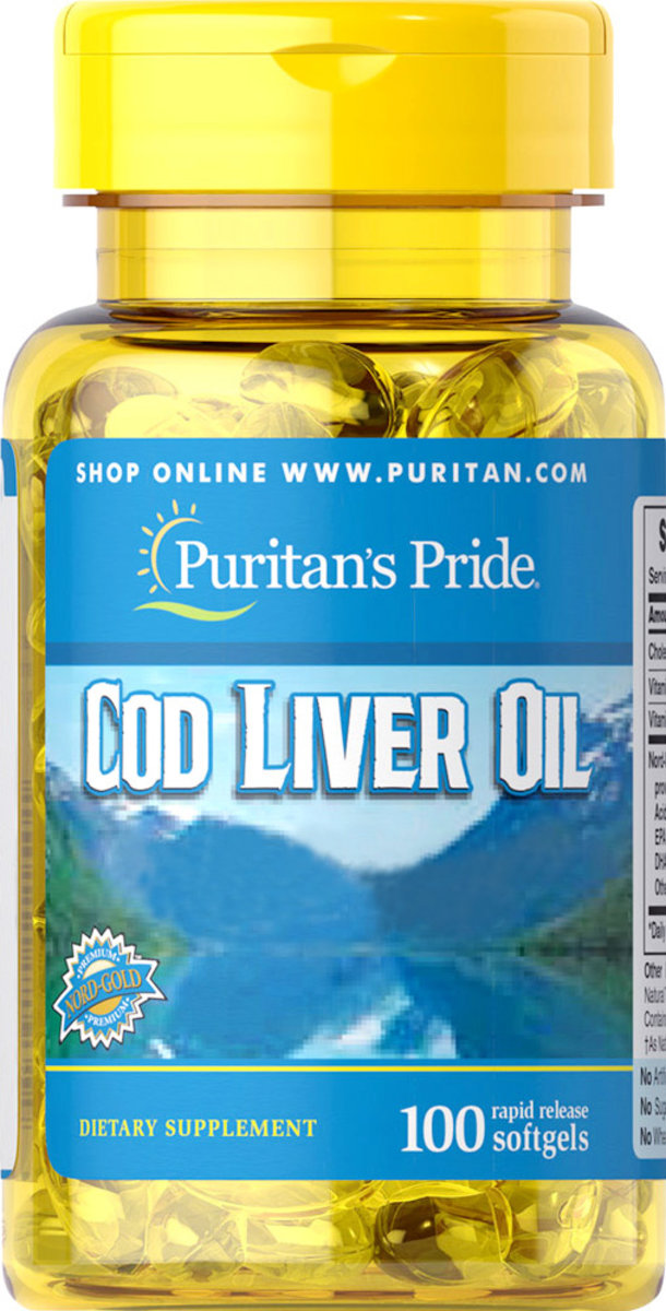 Nord-Gold Cod Liver Oil 415 mg 100s(EXP:12/20)