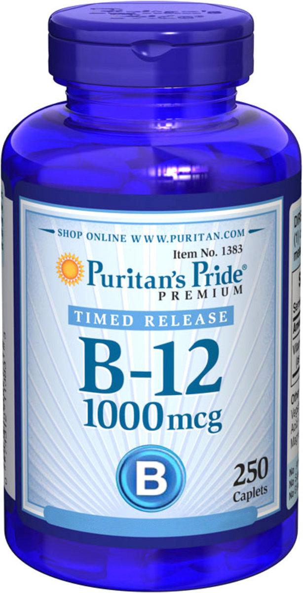 Vitamin B-12 1000 mcg 250s (EXP:12/19)