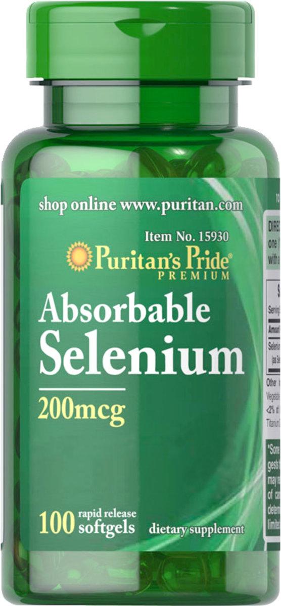 Absorbable Selenium 200 mcg 100s (EXP:12/19)
