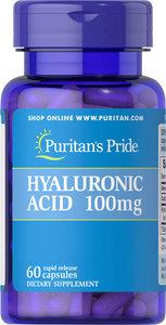Puritan's Pride 透明質酸 100 毫克 60粒 [有效日期 11/21]