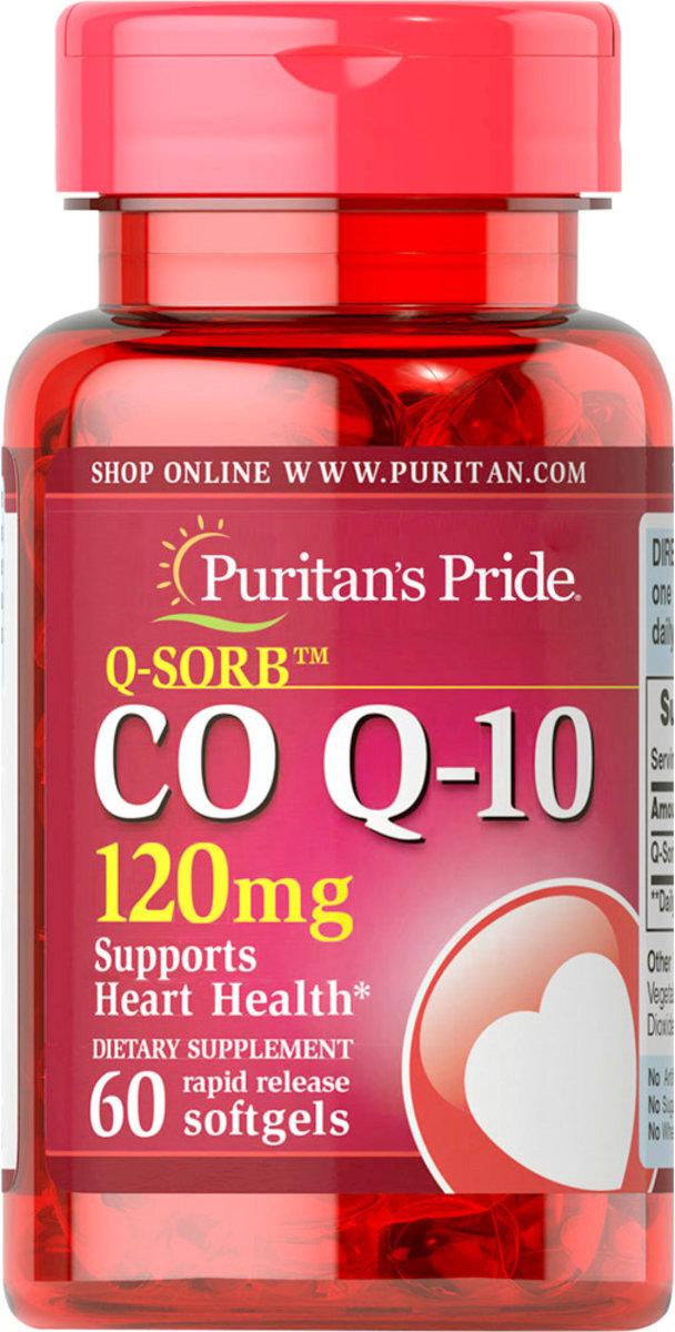 Q-Sorb Co-Q10 120 mg 60s (EXP:10/19)