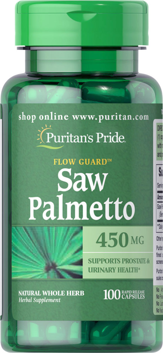 Saw Palmetto 450 mg 100s (EXP:11/19)