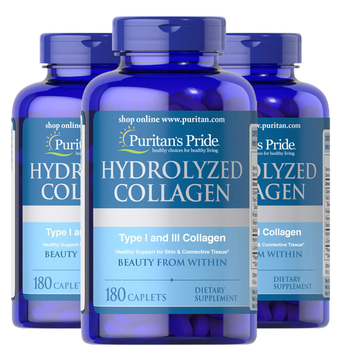 2x Hydrolyzed Collagen 1,000 mg 180s (EXP2/2021) Free 1 blt