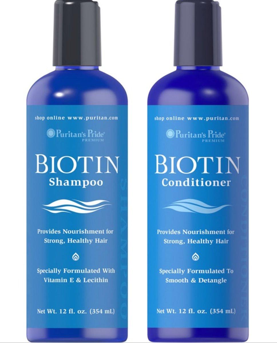 生物素洗髮水12安士(有效日期: 5/21) + 生物素護髮素 12安士(有效日期: 10/20)