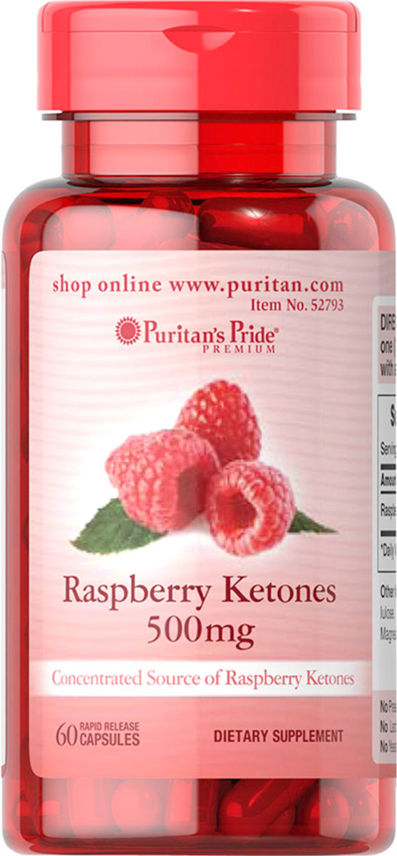 Raspberry Ketones 500 mg 60s (EXP:10/20)
