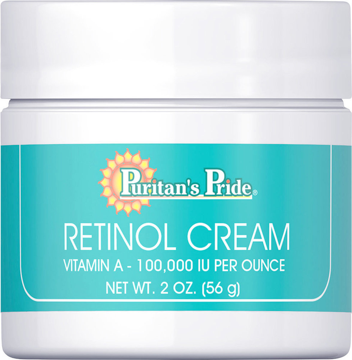 Retinol Cream (Vitamin A 100,000 IU Per Ounce)  [EXP  3/2021]