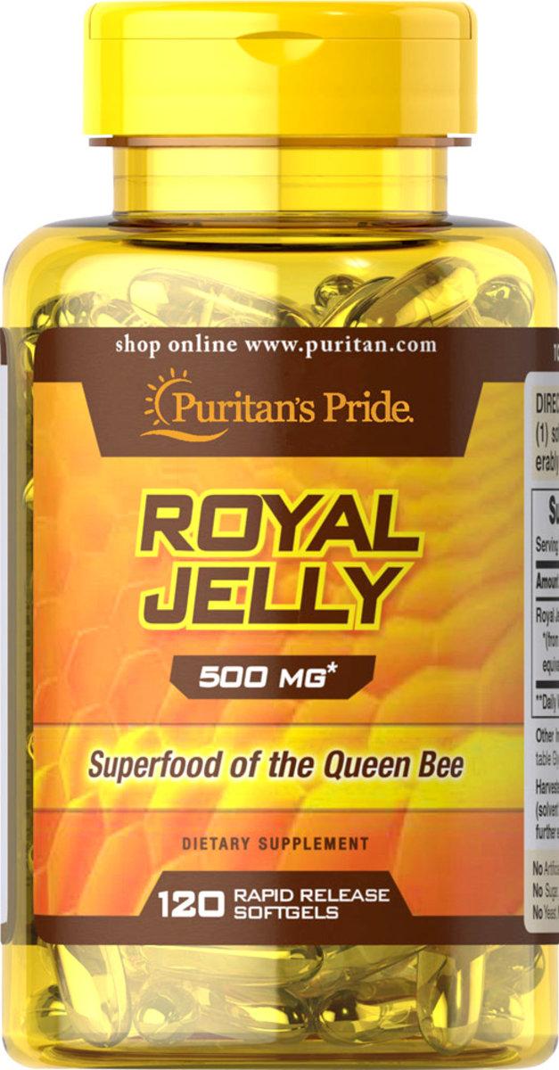 Royal Jelly 500 mg 120s (EXP:10/20)