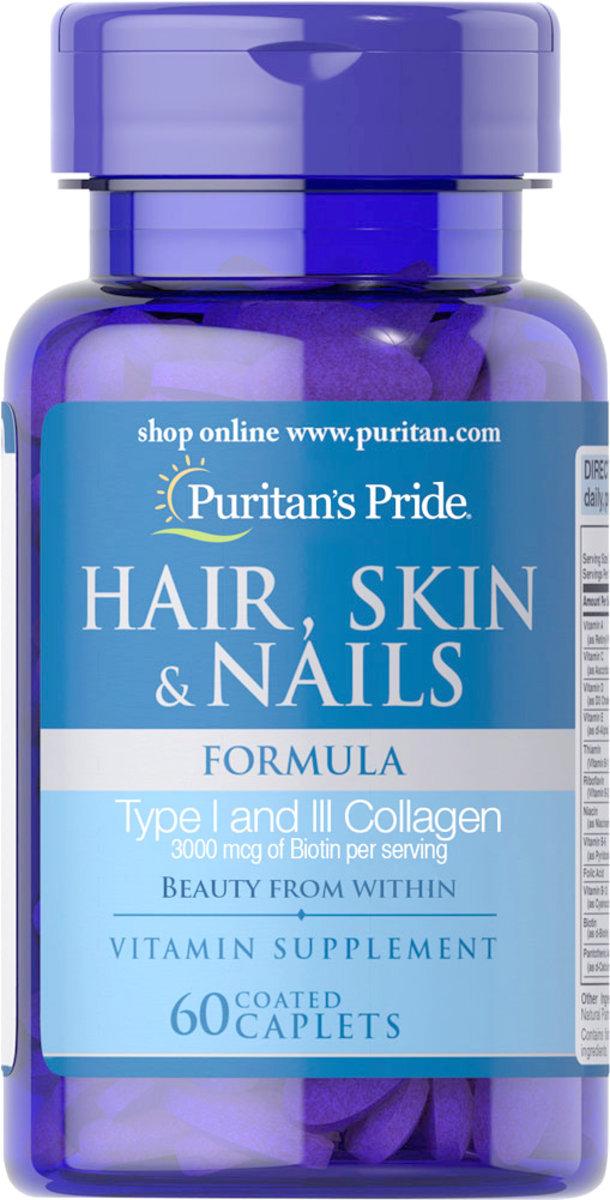 Hair, Skin & Nails Formula 60s (EXP:10/20)