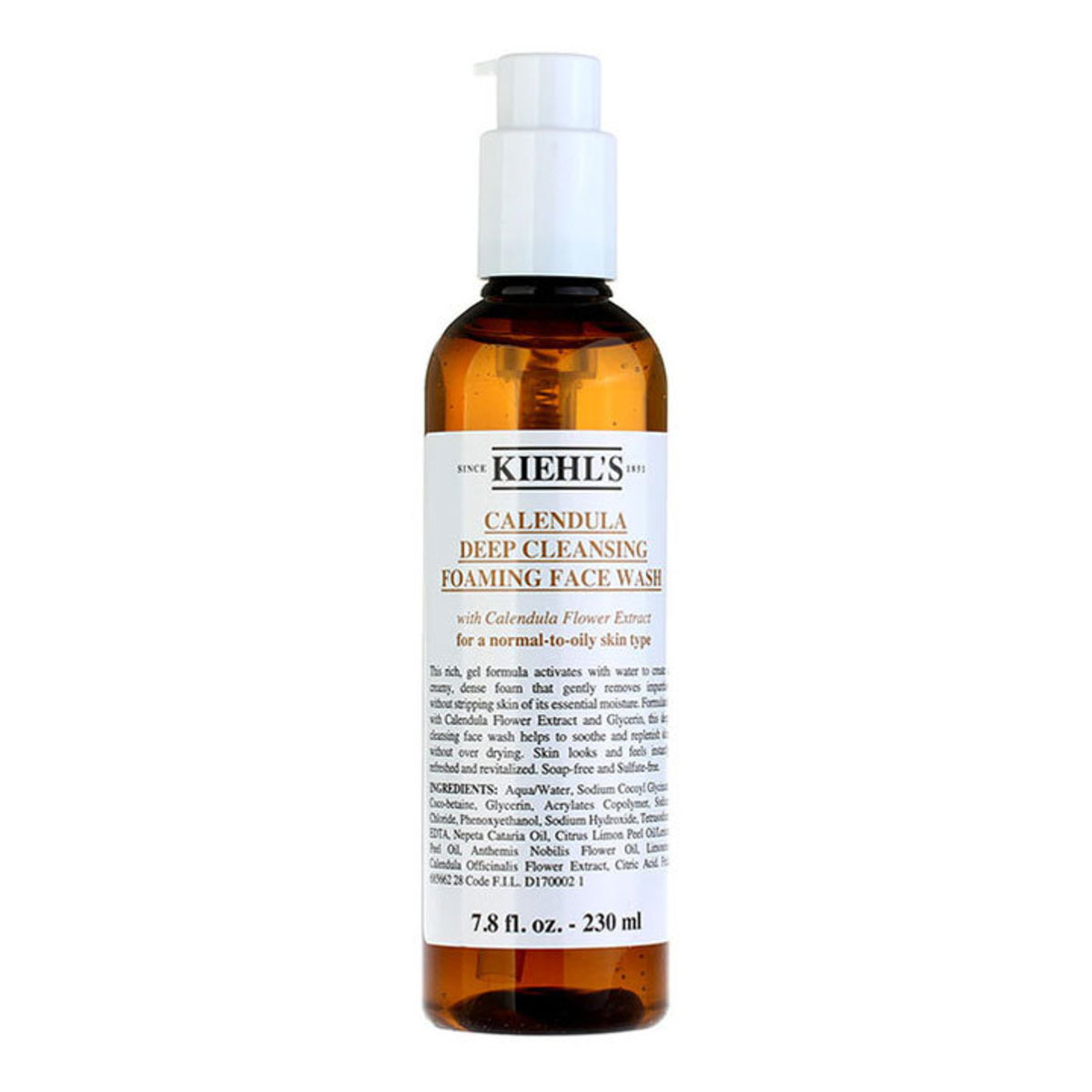 Calendula Deep Cleansing Foaming Face Wash 230ml (Parallel Import)