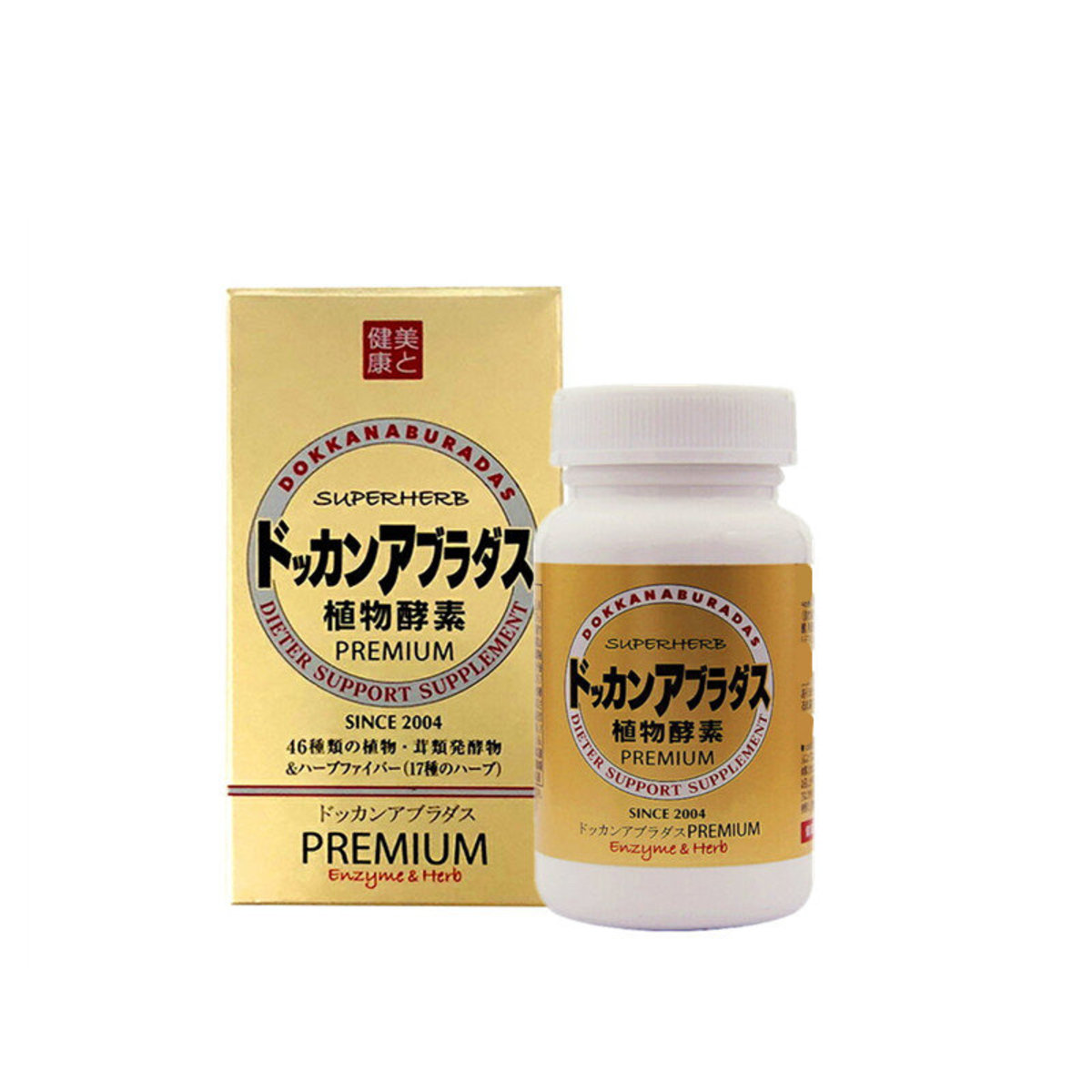 DOKKAN ABURA PREMIUM 180粒 升級加量版夜間植物酵素