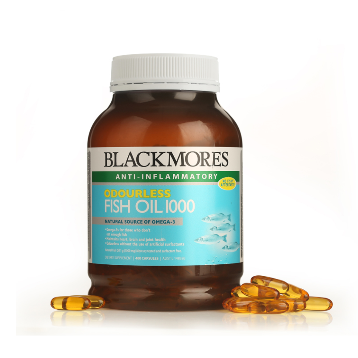 BLACKMORES Odourless Fish Oil 1000 (Balanced Imports)