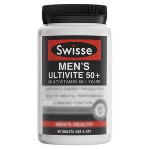 Swisse 男士複合維生素50歲以上 90片 (平行進口貨)