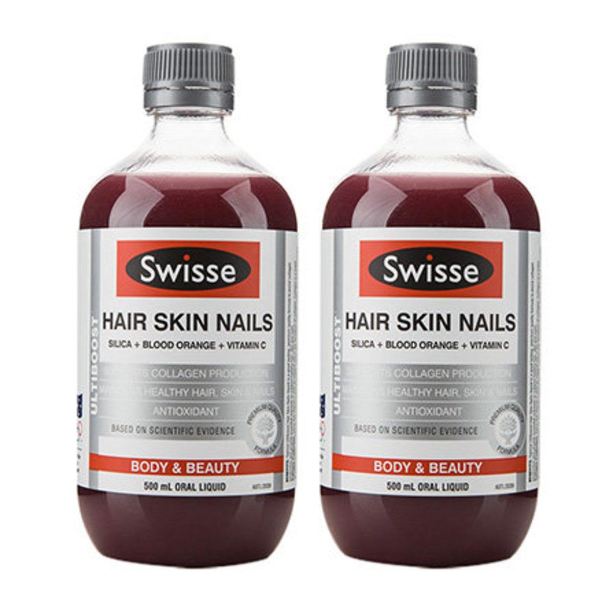 Swisse 澳洲膠原蛋白液(血橙) 500ml 兩支