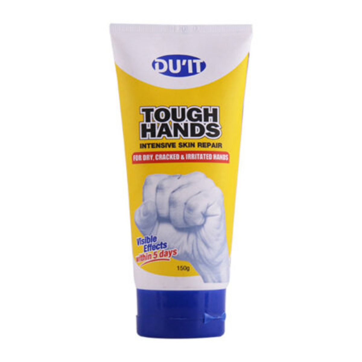 DU'IT Tough Hands Intensive Skin Repair, For Dry Cracked & Irritated Hands 150g (parallel imports)