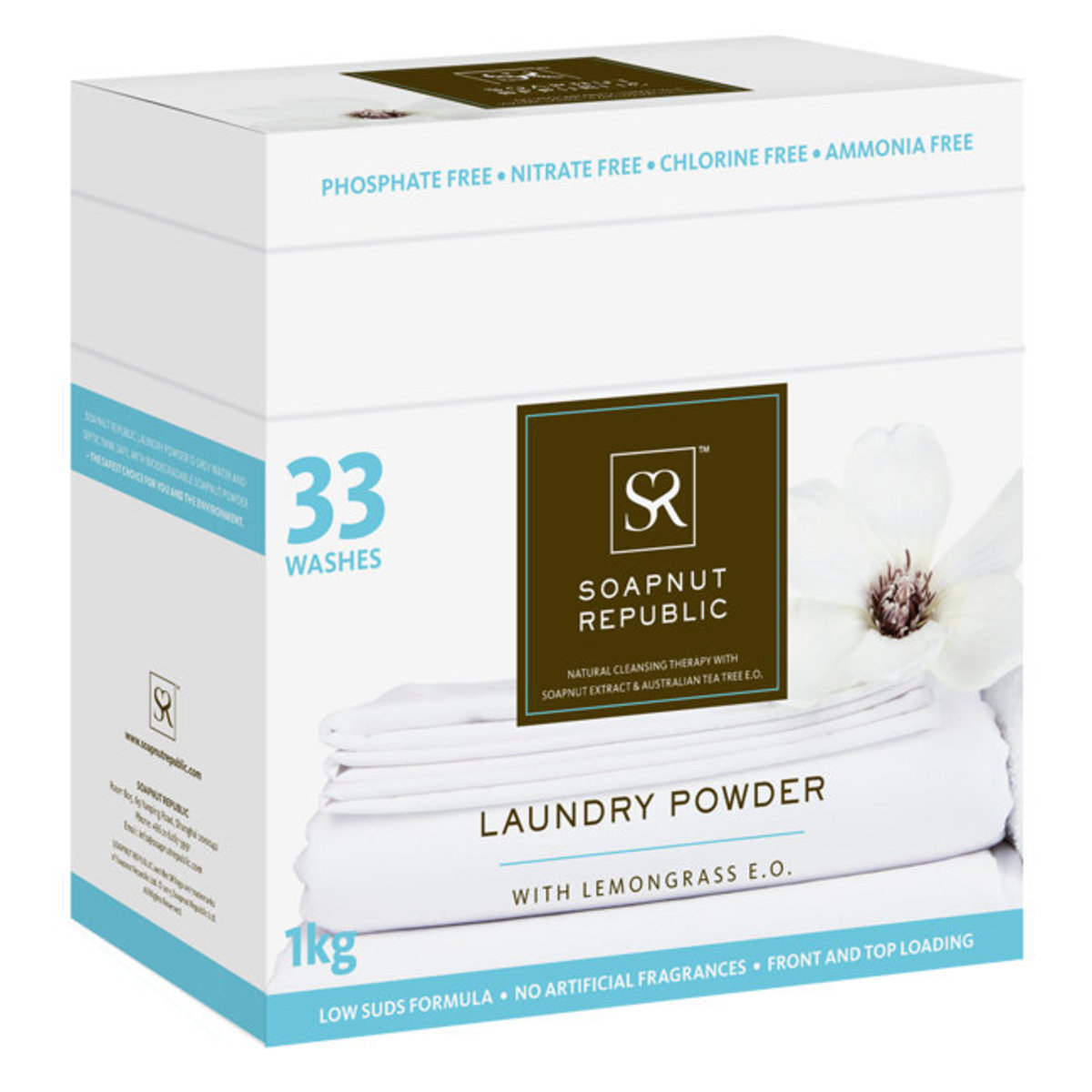 Laundry Powder - Fragrance Free