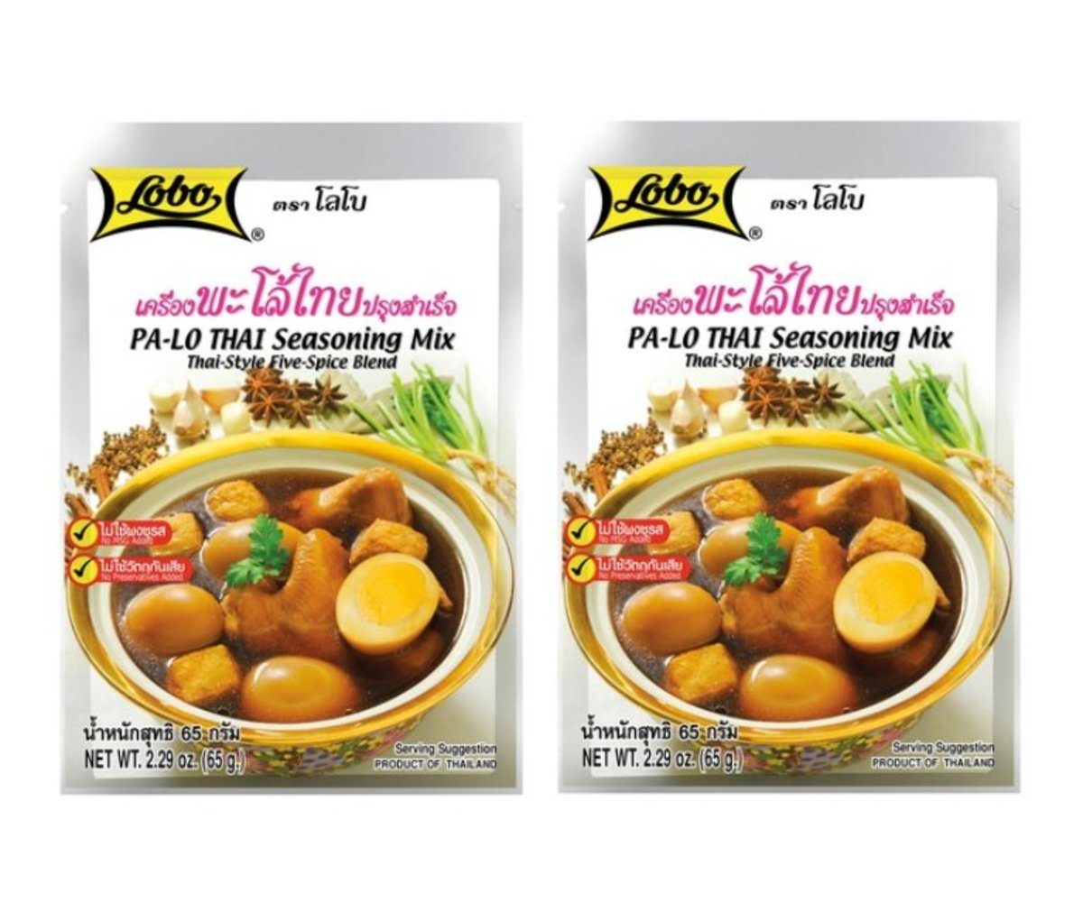 PA-LO Thai Seasoning Mix 65g (2 packs) Licensed
