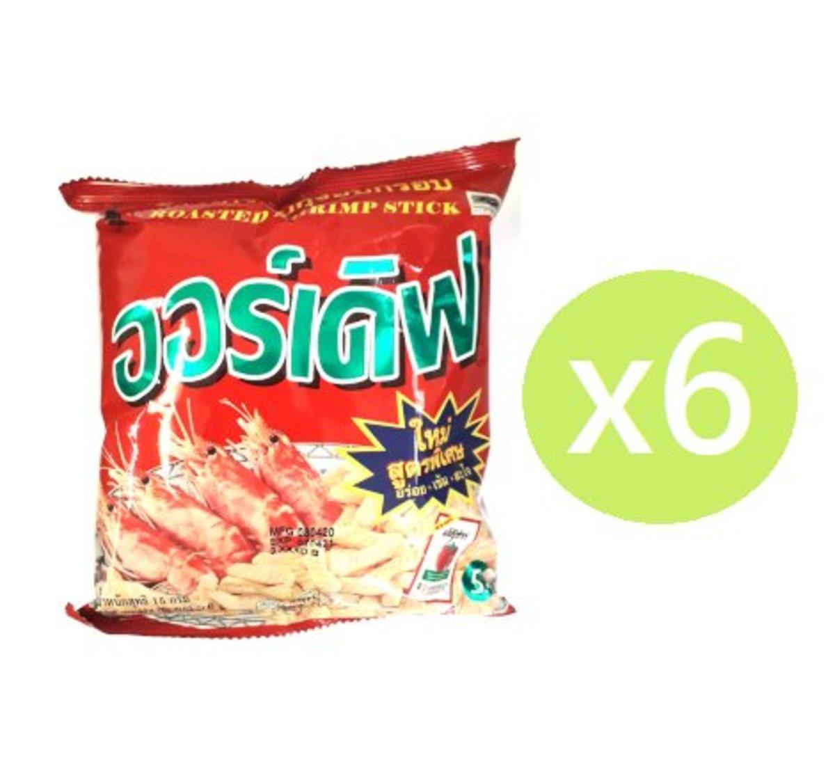 蝦條17g-紅色 (6包)
