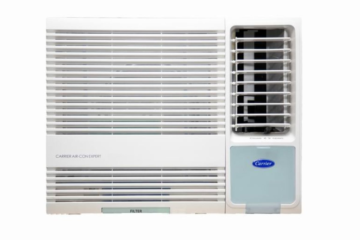 Carrier CHK09ENE 1 HPWindow Type Air Conditioner - Remote