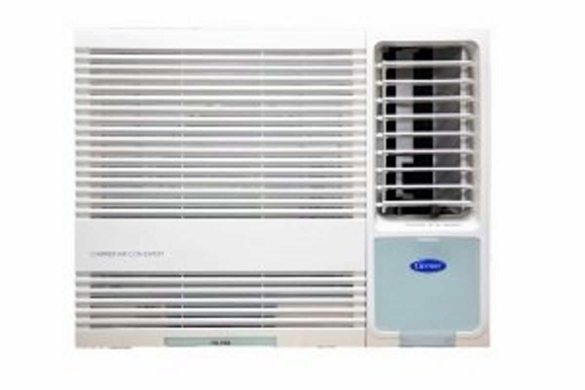 Carrier  CHK18ENE - 2 HP Window Type (Cooling Only) with Remote