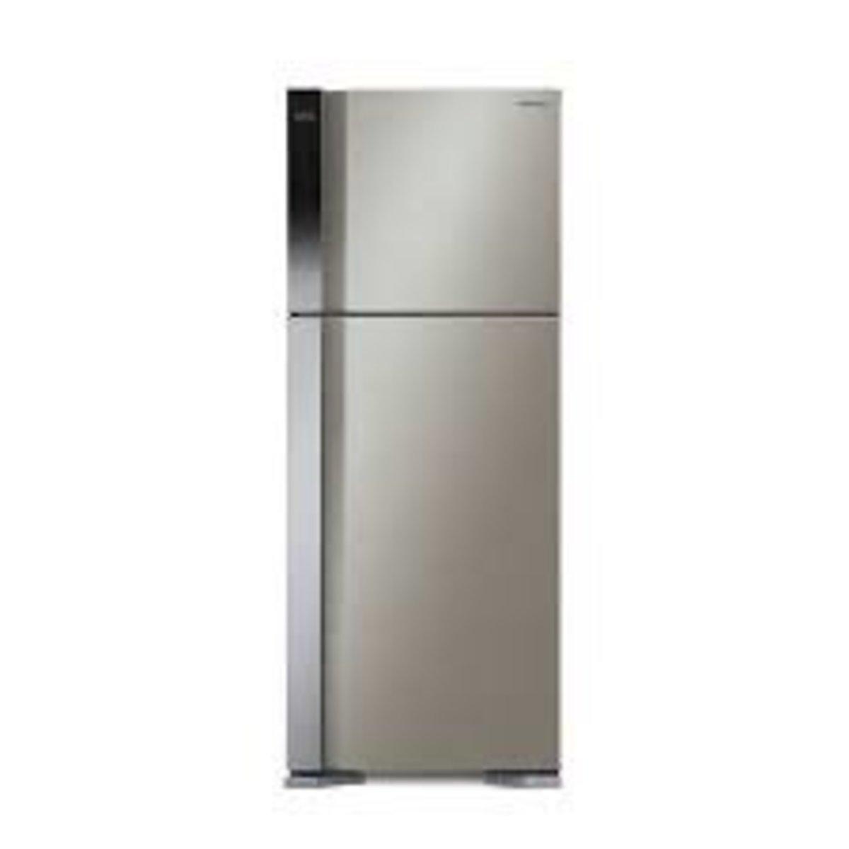 HITACHI R-V541P7H 437L Top-freezer 2-door Refrigerator(Brilliant Silver)
