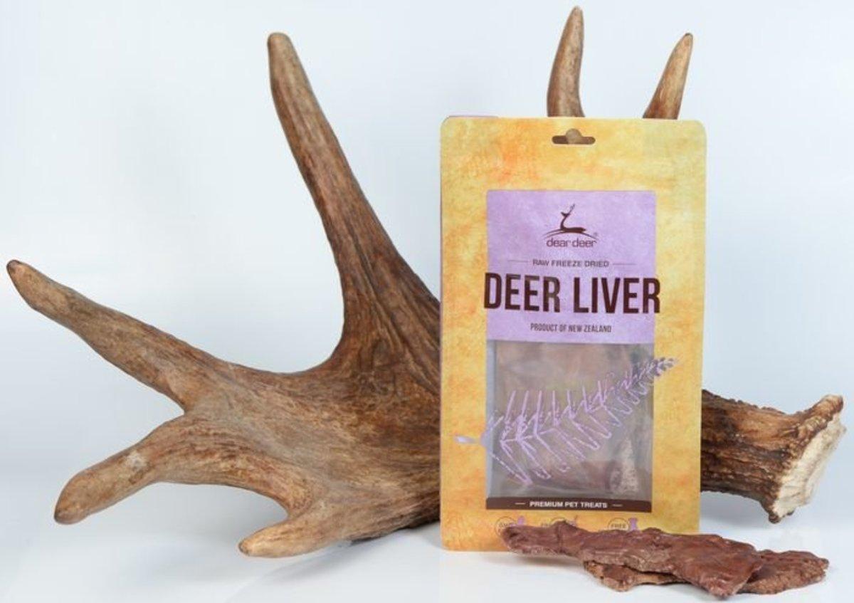 Deer Liver 50g (Freeze Dried)