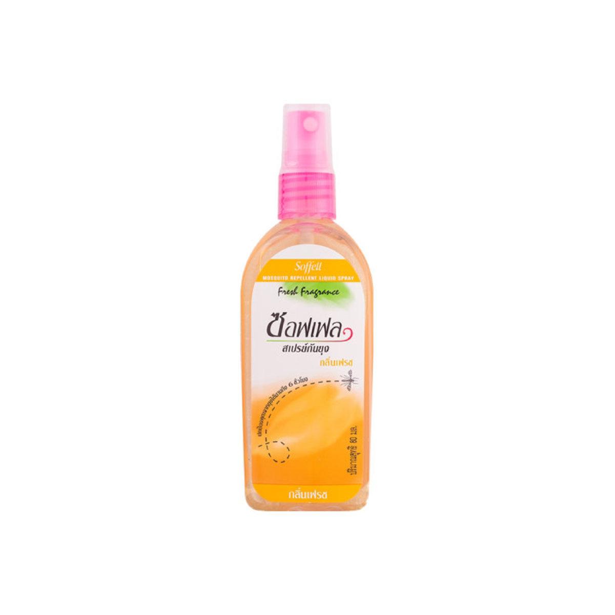 Mosquito Repellent Liquid Spray- Orange 80ml