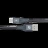 Elite Link Triple-braided Type-C 5A Cable0.3m Space grey DA12E