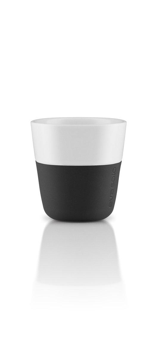 2 Espresso tumbler 80ml,  black(2pcs)