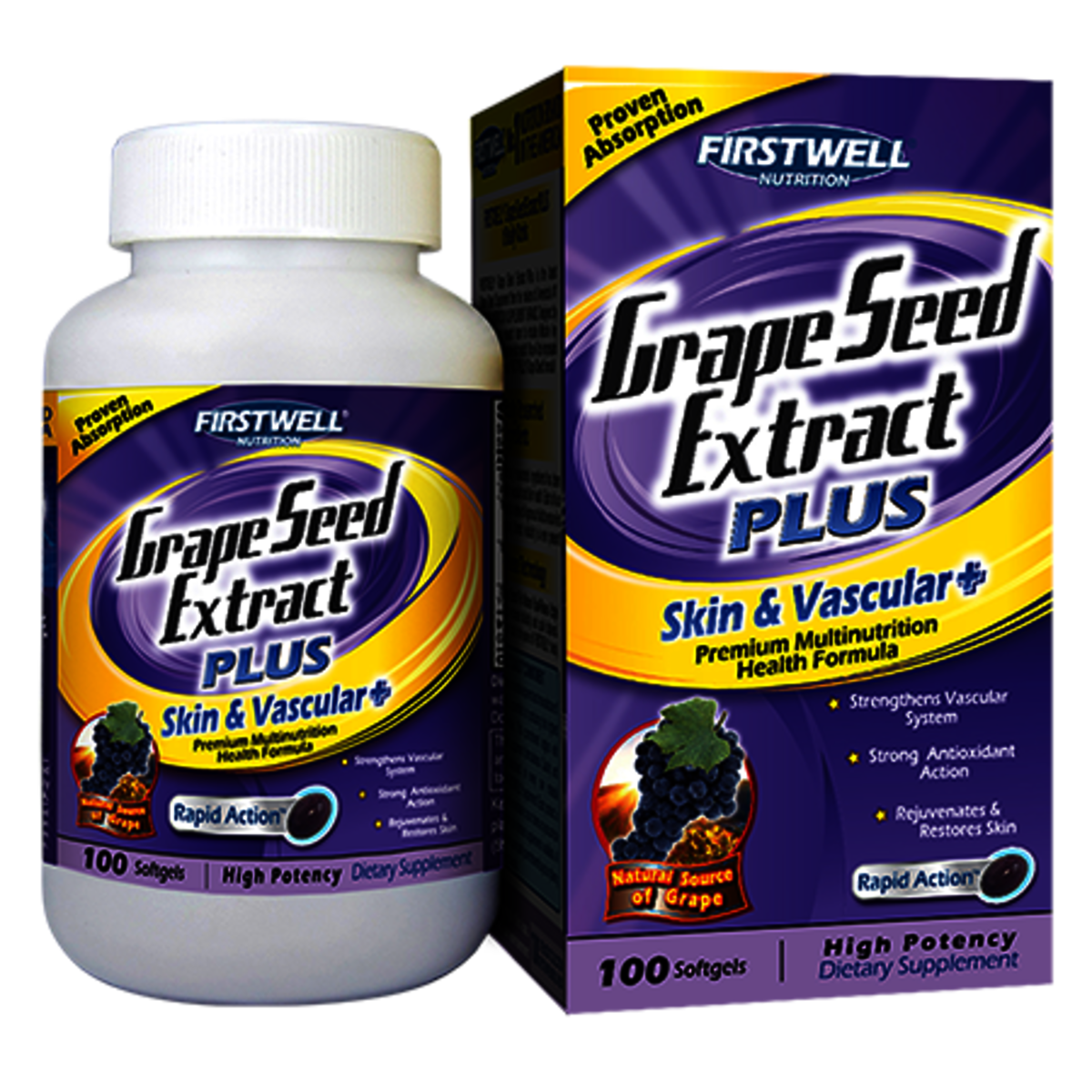 Firstwell Grape Seed Extract PLUS 100's