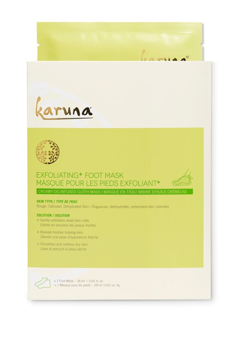 Karuna Exfoliating Foot Mask 4pcs