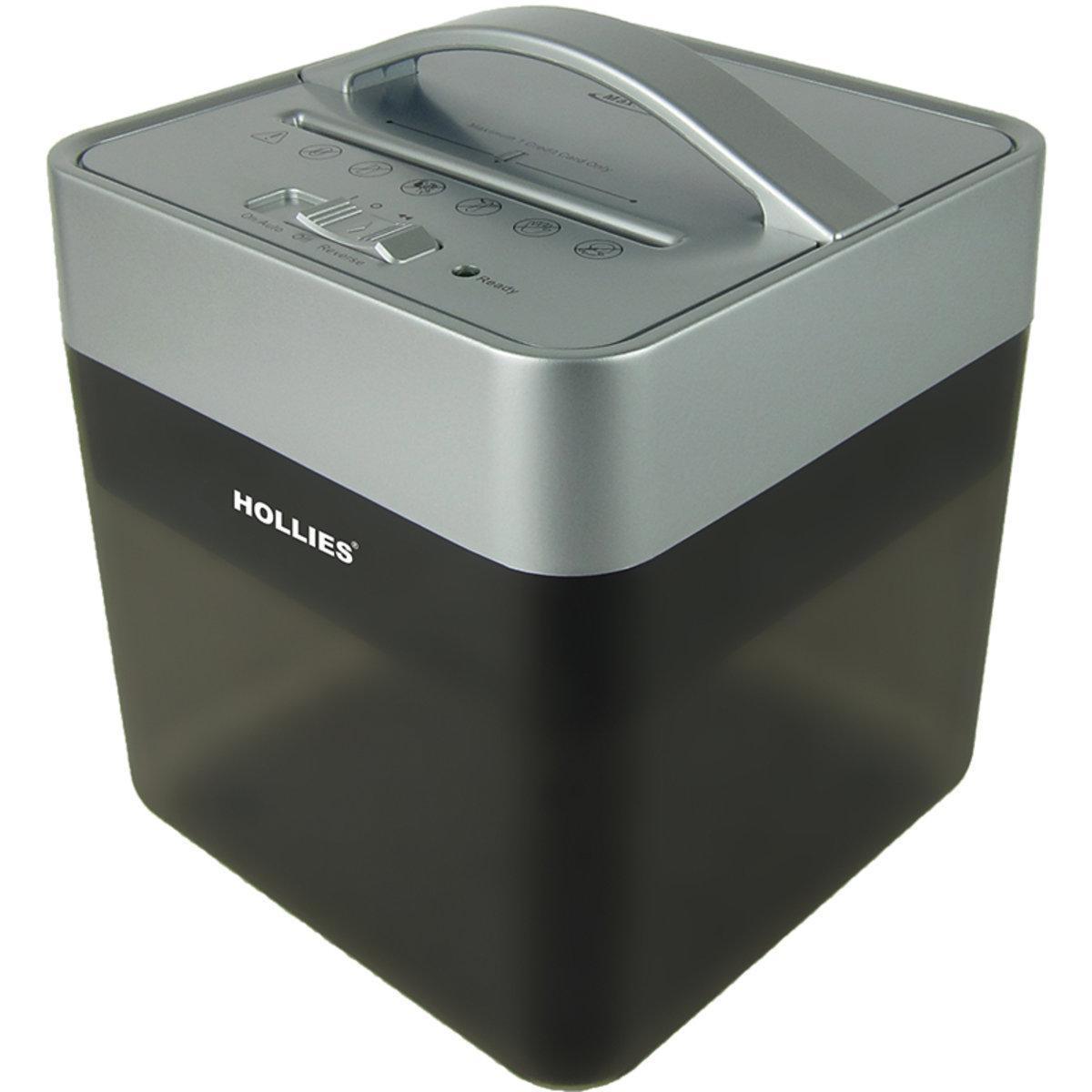 桌上型靜音粒狀碎紙機 (銀黑色) HL 538
