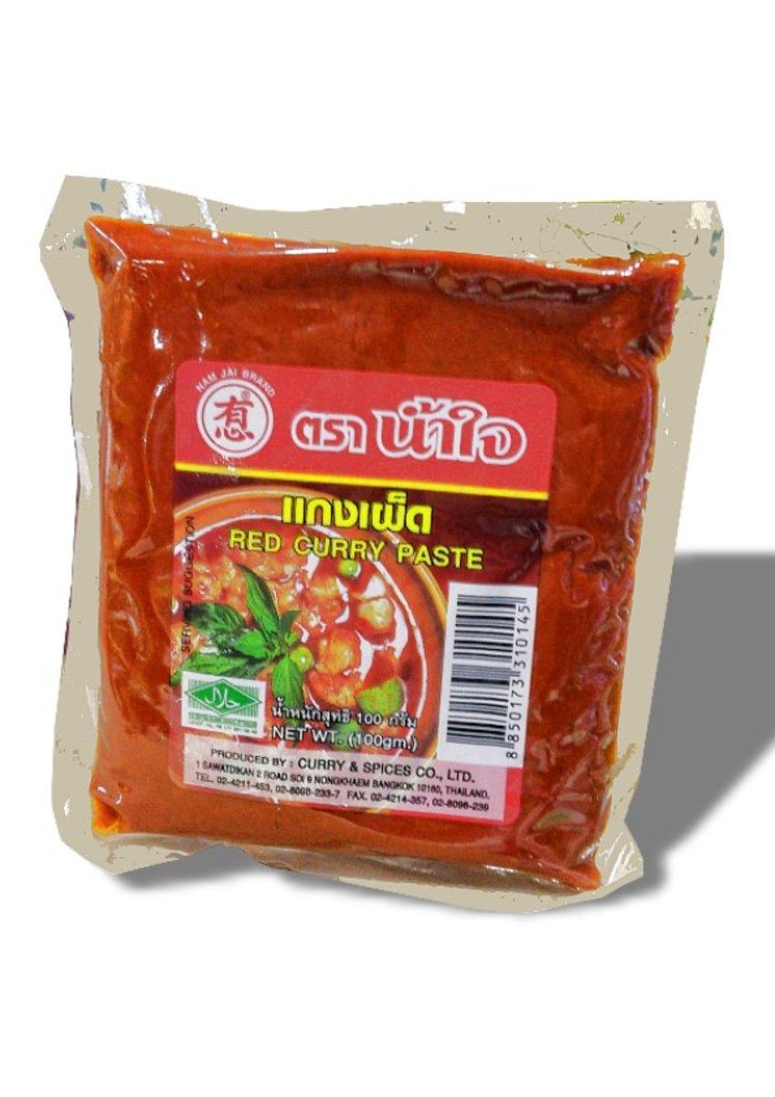 有心泰國紅咖哩醬 (原盒)