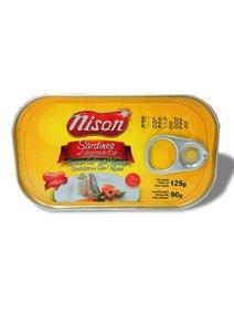 Indonesia Nison - 菜油浸沙甸魚 125克 x 10罐