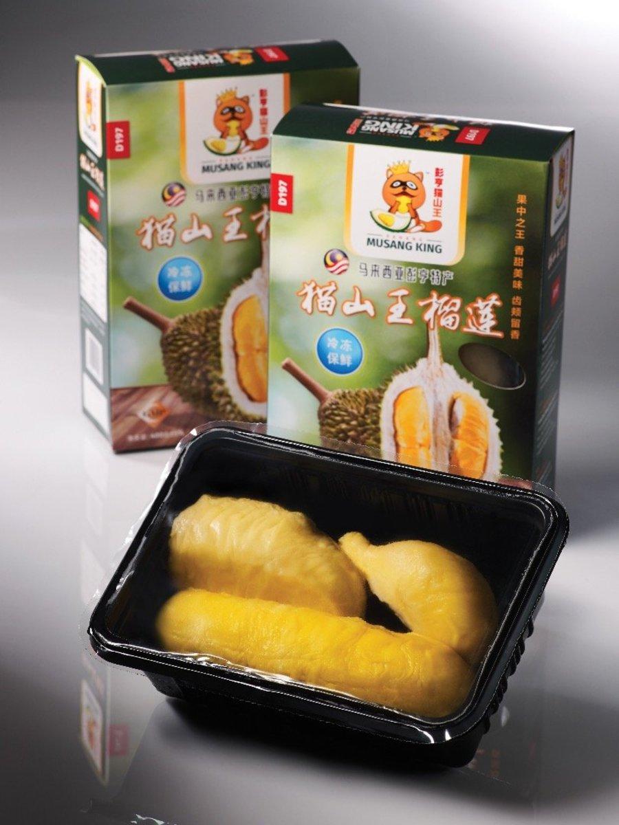 貓山王榴槤果肉(300g)