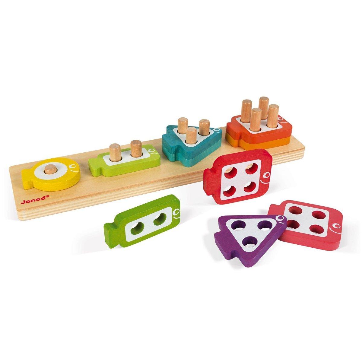 魚兒數數疊疊樂 - 幼稚園熱門面試玩具