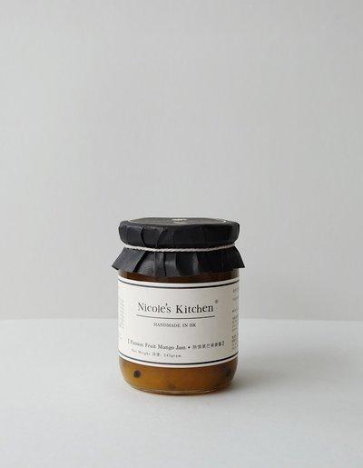 Nicole S Kitchen Passion Fruit Mango Jam Handmade In