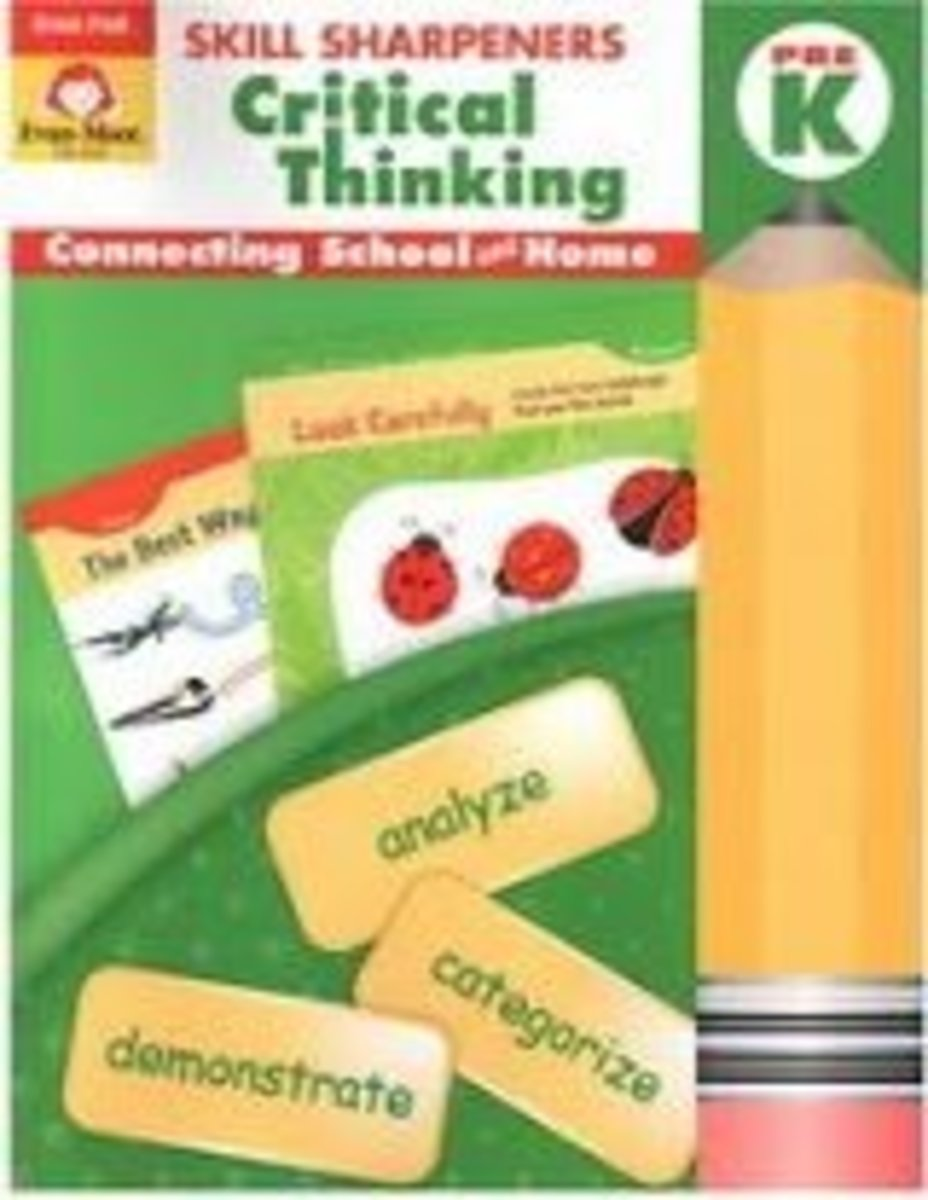 Skill Sharpeners – Critical Thinking Pre K Critical thinking training
