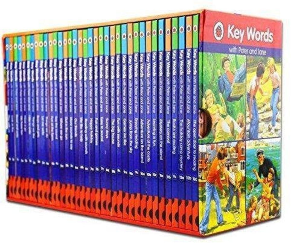 Key Words with Peter and Jane  bestselling reading scheme 12 levels, each with 3 books: a, b and c|Parallel Imports