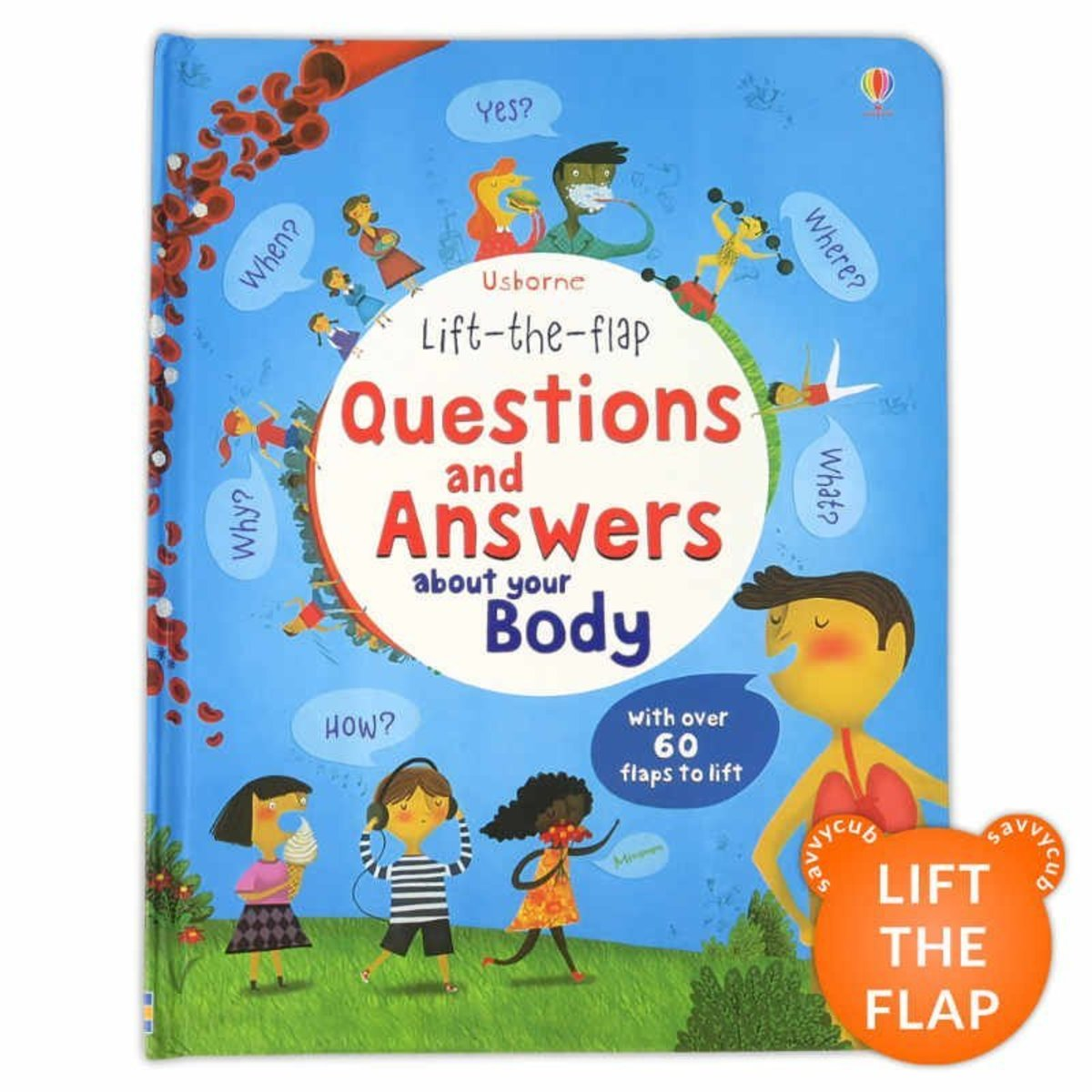Lift the Flap Questions and Answers about your Body|Parallel Imports