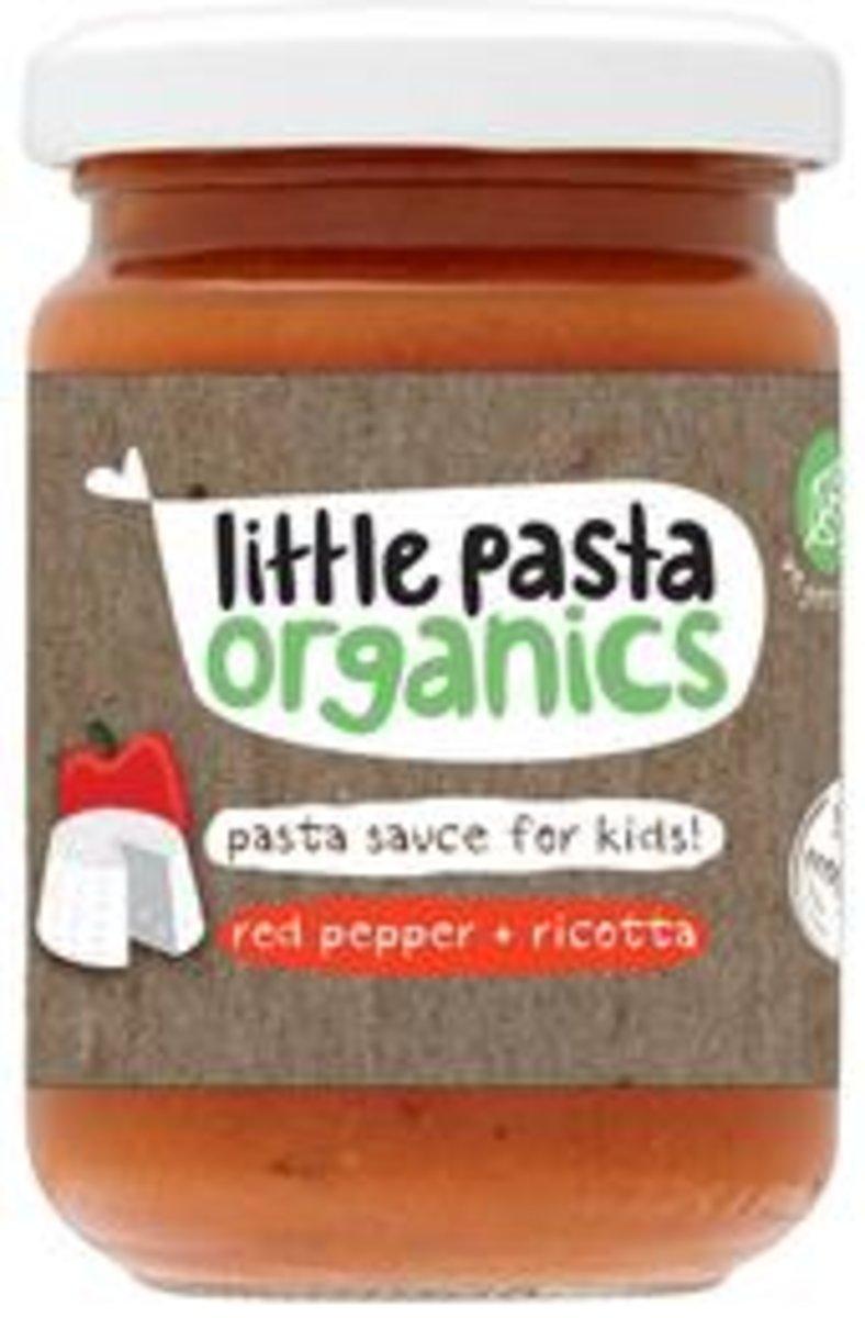 Organics Red Pepper & Ricotta Sauce