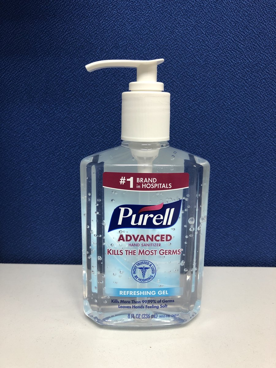 Purell Advanced Hand Sanitizer (236ml) - Special Discount!