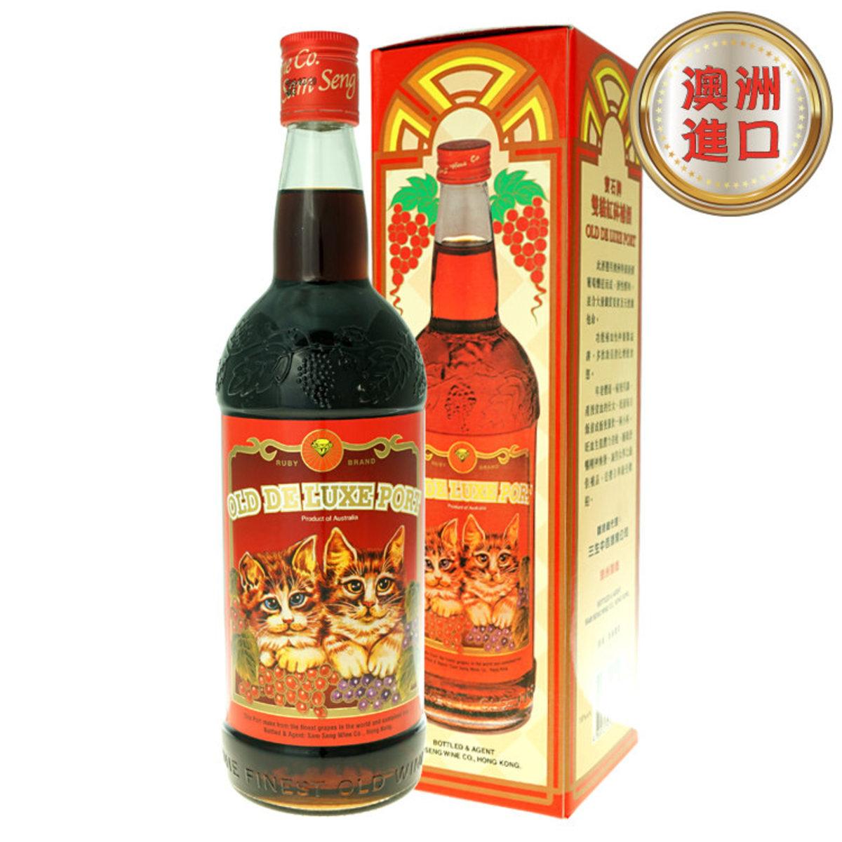寶石雙貓紅砵酒 750ml OLD DELUXE PORT