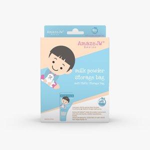AmazeJW 一次性無菌奶粉儲存袋(男孩版)