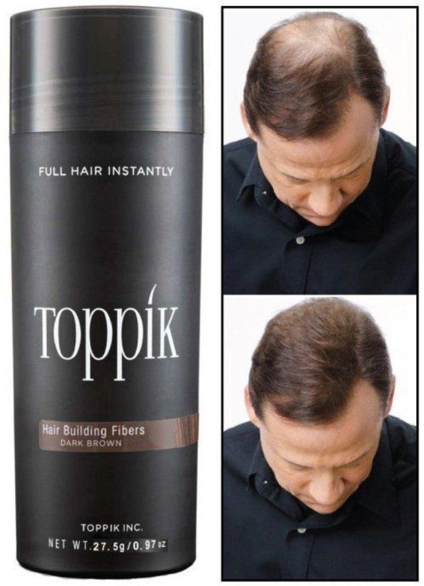 Toppik Hair Building Fibre - Dark Brown colour  [parallel goods]