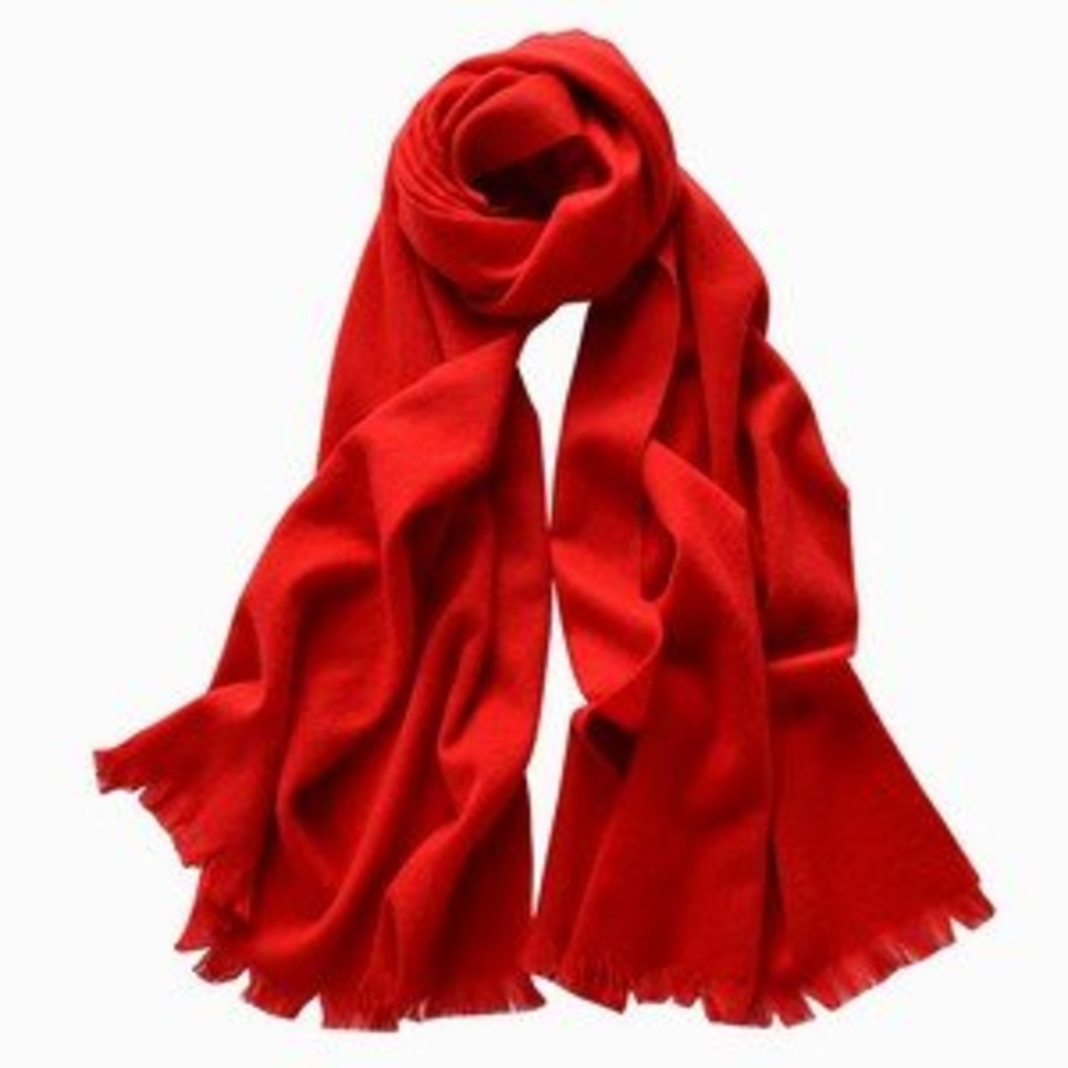 100% Cashmere Scarves (Red)
