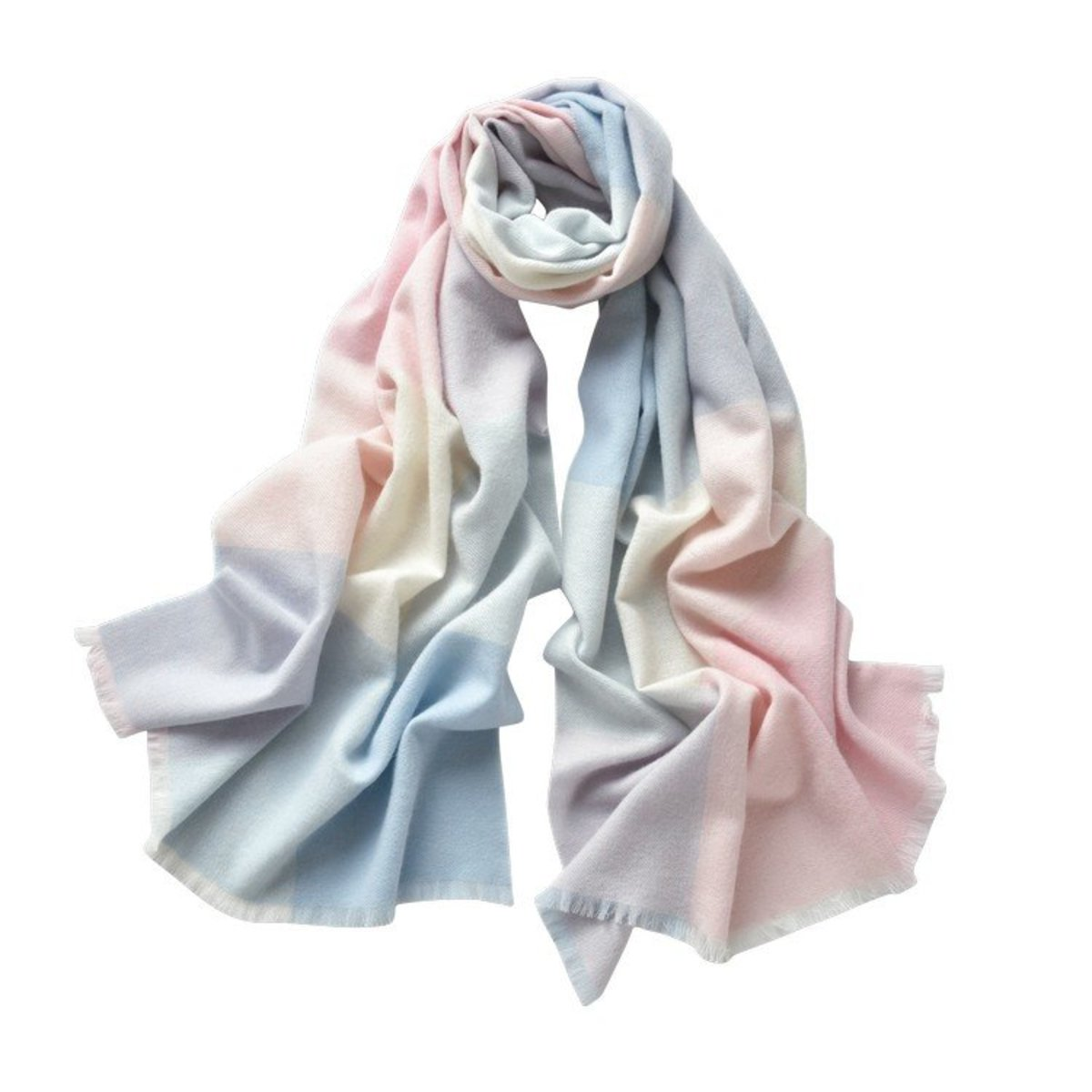 The Classic Check Cashmere Scarves
