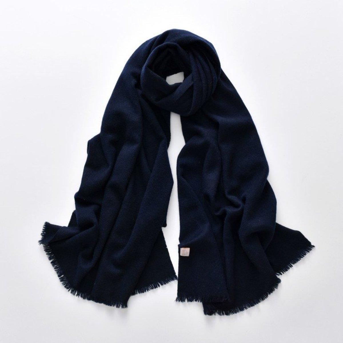 100% Cashmere Scarves (Navy)