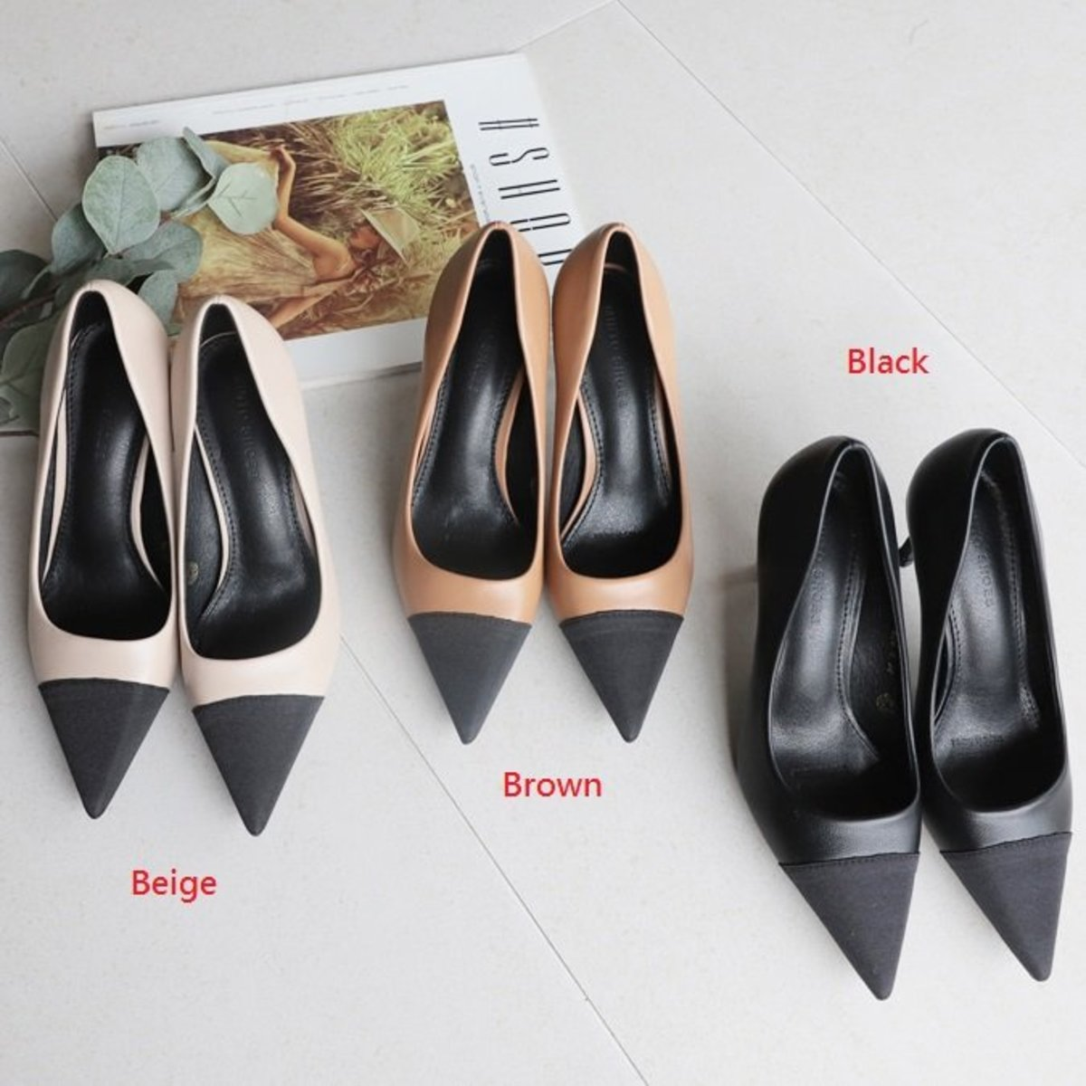 Two-Tone Modern Hill Shoes