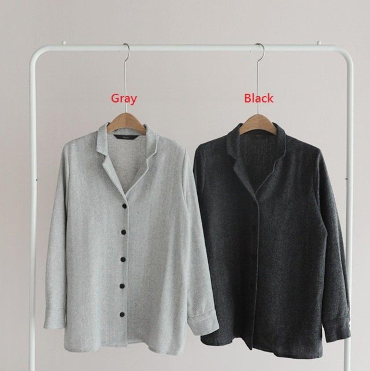 Herringbone Wool Shirt