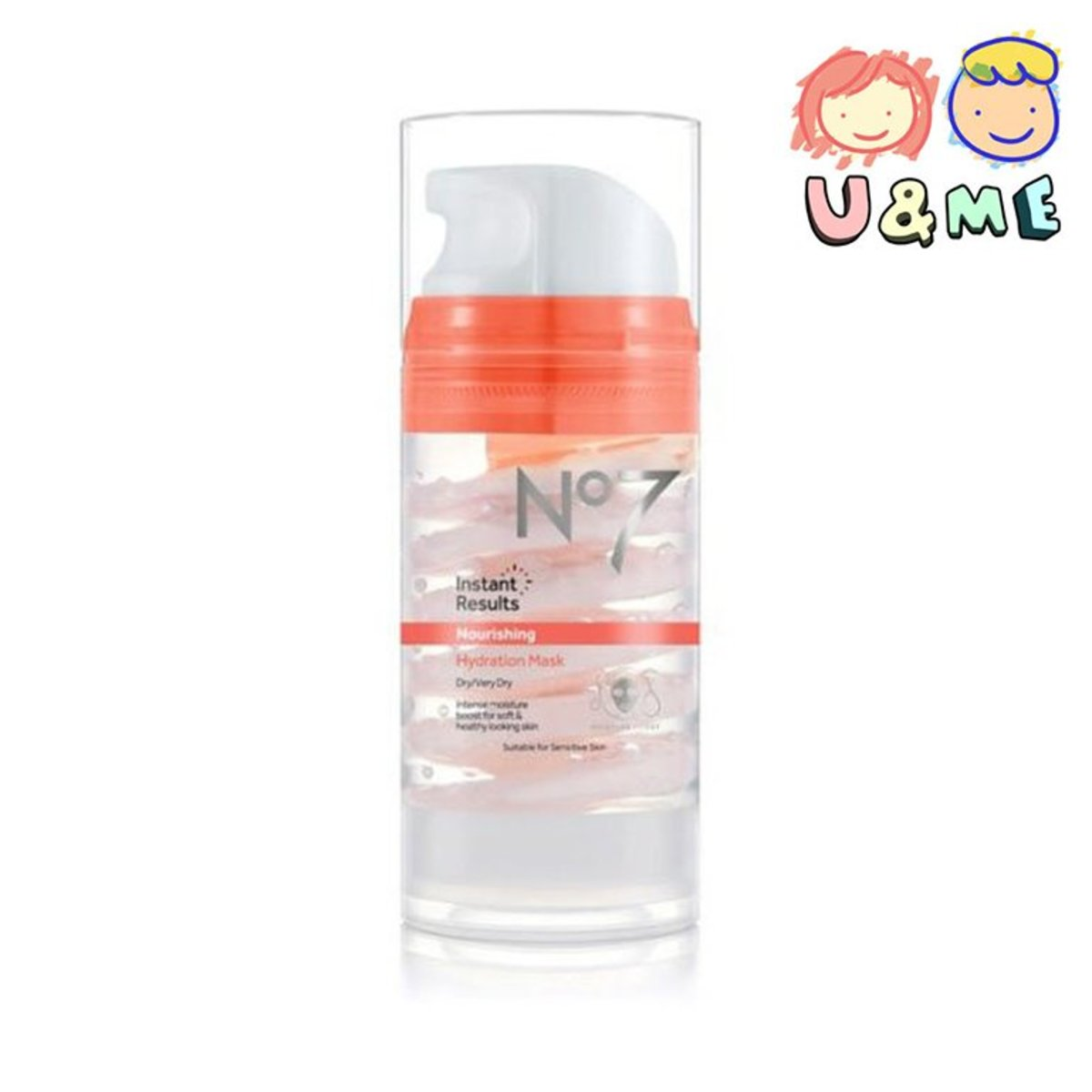 No7 Nourishing Hydration Mask Moisture Booster 100ml (Parallel Import)
